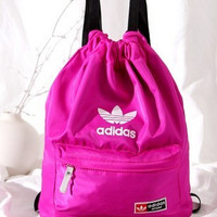"""Adidas"" Outdoor Waterproof Travel Backpack Foldable Shoulder Bag Daypack"