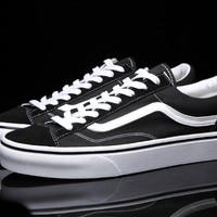 VANS Classic Retro 50th Anniversary Old Skool OG 1977 Style 36 unisex canvas shoes for men and women os skateboarding sneakers