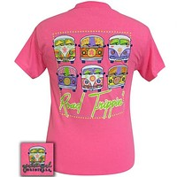 Girlie Girl Originals Preppy Road Trippin Hippie Vans T-Shirt