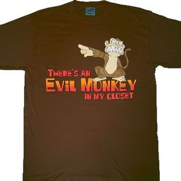 Family Guy There's an Evil Monkey in my Closet T-shirt - Family Guy - | TV Store Online