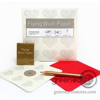Green Earth Stores   00211467344 - Flying Wish Paper - Mini - Hearts