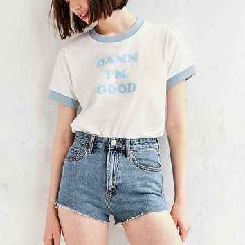 Camp Collection I'm Good Ringer Tee