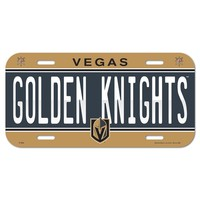 "VEGAS GOLDEN KNIGHTS 6""x12"" LICENSE PLATE CAR BRAND NEW WINCRAFT"