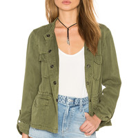 Sanctuary Hillside Safari Jacket in Cactus