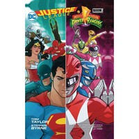 Justice League Power Rangers TP