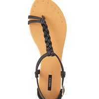 Total Stud Braided Sandals