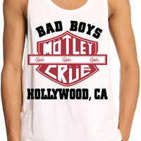 motley crue Bad Boys Hollywood --- men tank top, size S --- 2XL print tanktop
