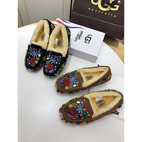 Limited Edition Ugg Women Crystals Sequin Casual Shoes Slipper #1862