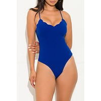 Perfect Control Bodysuit Royal Blue