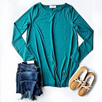 Claire Teal Pocket Tunic