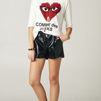 COMME DES GEEKS WHITE TEE