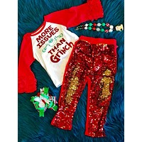 Holiday Fun Christmas Sparkle Shirt More Issues Then Grinch CH