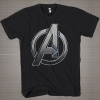 AVANGER LOGO  Mens and Women T-Shirt Available Color Black And White
