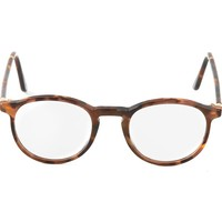 Retro Super Future tortoiseshell glasses
