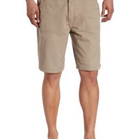 Geoffrey Beene Men's Reversible Short, Khaki, 32