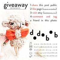 Giveaway Little Sheep Plush Toy for Facebook Follower and publisher