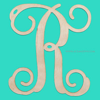 Wooden Initial