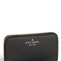 kate spade new york 'cherry lane - louie' saffiano leather phone wallet