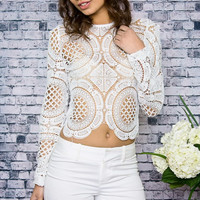 Mara Lace Top