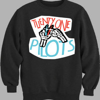 twenty one pilots logo Sweater for Mens Sweater and Womens Sweater *