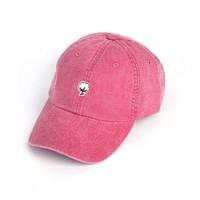 Embroidered Cotton Logo Hat in Nautical Red by The Southern Shirt Co.