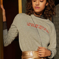 Project Social T Out Of Bed Pullover Sweatshirt | Urban Outfitters