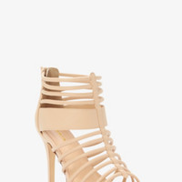 Strappy Caged Sandals (Wide Width)