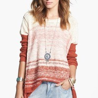 Free People 'Po' Textured Sweater | Nordstrom