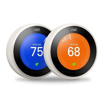 Nest Thermostat 3rd Generation 2 pack bundle