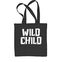Wild Child  Shopping Tote Bag