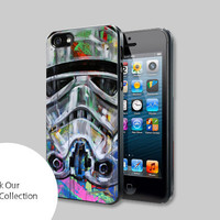 star wars stormtrooper pop art For iPhone, Samsung Galaxy and iPod cases