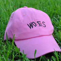 Woes Pink Hat Drizzy Drake