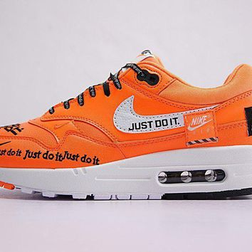 Just Do It Nike Air Max 1 917691 800 Sneaker Shoe