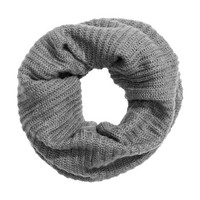 Rib-knit Tube Scarf - from H&M