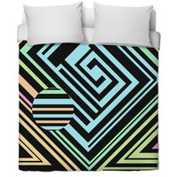 Squares Bed Spread