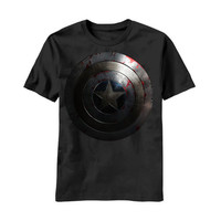 Captain America Winter Soldier Movie Shield Mens T-Shirt