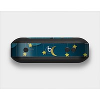 The Layered Paper Night Ship with Gold Stars Skin Set for the Beats Pill Plus
