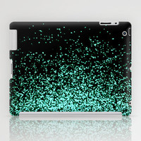 infinity in mint green iPad Case by Marianna Tankelevich