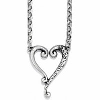 Tuscan Tuscan Etched Heart Necklace Necklaces
