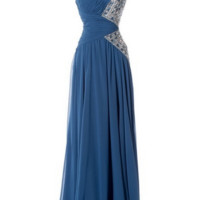 KC131503 One Shoulder Jeweled Prom Dress by Kari Chang Couture