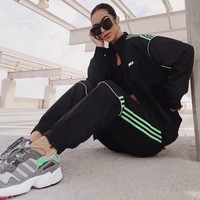 Lime Green Track Suit