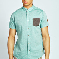 Oxford Shirt with Contrast Pocket