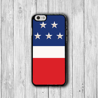 Tri Color America Flag iPhone Case USA iPhone 6S iPhone 6 iPhone 5 Samsung Galaxy S4 Electronics Cases Rubber iPhone Covers Christmas Gift
