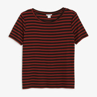 Monki | View all new | Relaxed wide collar tee