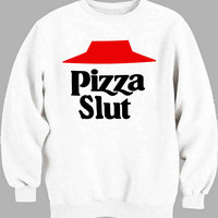 Pizza Slut Design Sweater for Mens Sweater and Womens Sweater ***