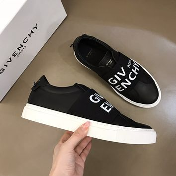 Givenchy Men Fashion Boots fashionable Casual leather Breathable Sneakers Running Shoes0418cx
