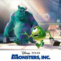 Monsters Inc : 11 x 14 inches (28cm x 36cm) : movie poster : (A)