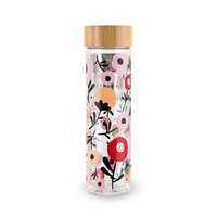 Blair™ Posy Patterned Glass Travel Infuser Mug by Pinky Up