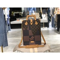 LV Louis Vuitton X NIGO MONOGRAM CANVAS ONTHEGO HANDBAG SHOULDER BAG