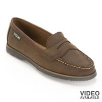 Lincoln Leather Penny Loafers - Women